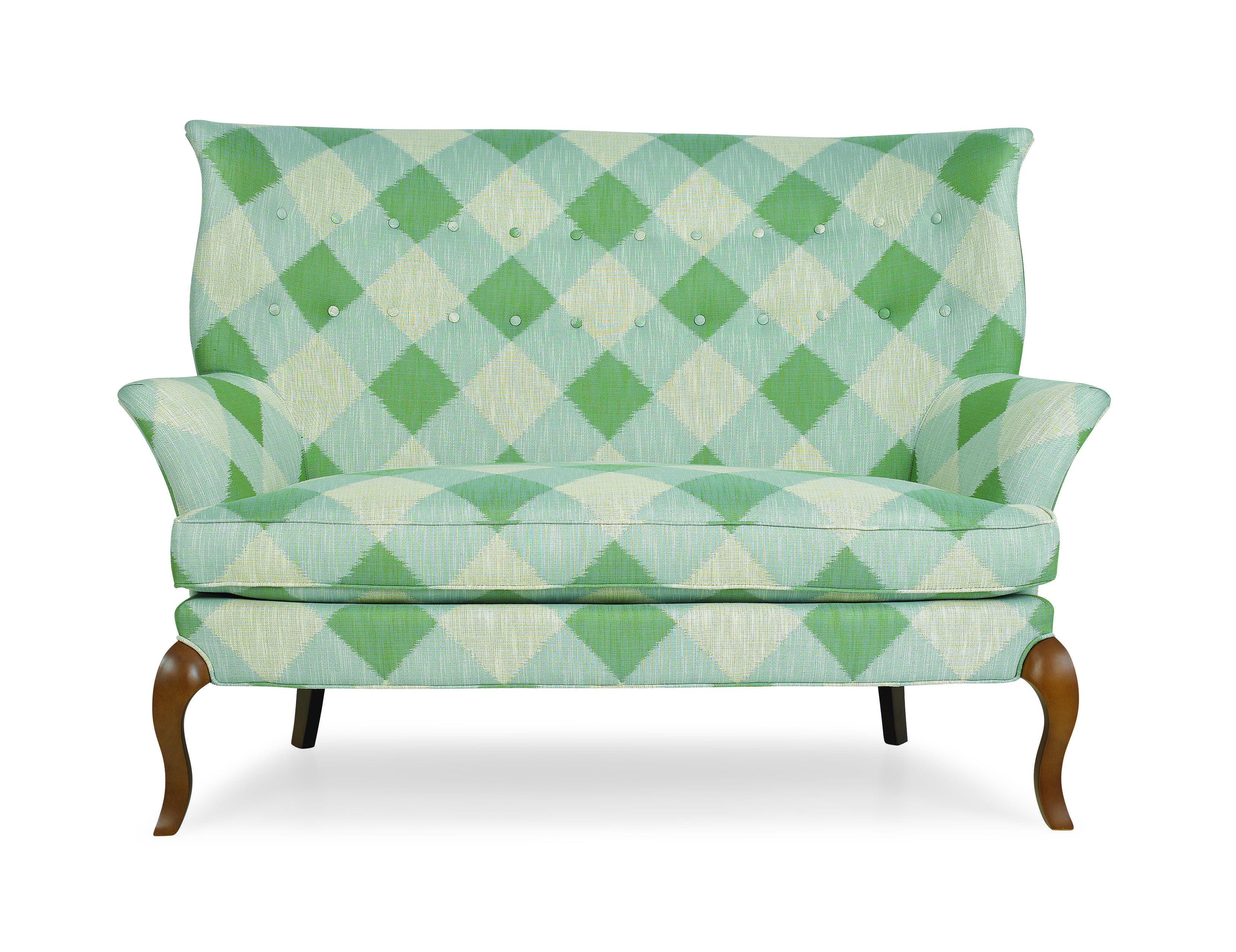 Green Plaid Sofa Crlaine Luxury Furniture Design Furniture