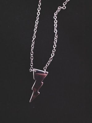 I Want Your Kittens. Forever21 lightning bolt necklace. For channeling my inner Harry potter.