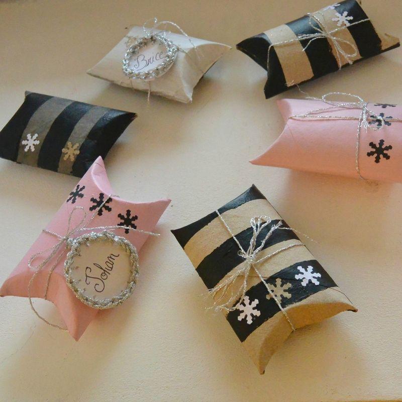d corer ses petits cadeaux oh bout du fil id es pour la maison pinterest. Black Bedroom Furniture Sets. Home Design Ideas