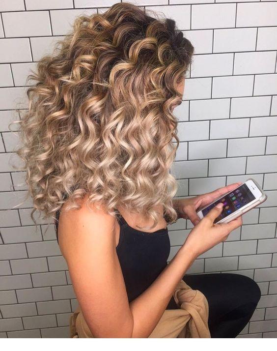 Rich Hair Miladies Net Hair Styles Curly Hair Styles Naturally Hair Highlights