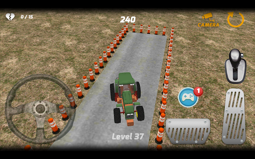 Tractors and immediately begin to struggle in tough way to download and play. Taking up the final, you can complete the game by completing all phases. If you do not pass tough section, or if you take damage, you have to play again the game.<p>Tractor parking There are 40 levels in the game. There are obstacles in challenging level. You must be quick to get rid of obstacles. You will experience a real experience with unique tractor model.<p>Game Features<p>- Always challenging levels show a…