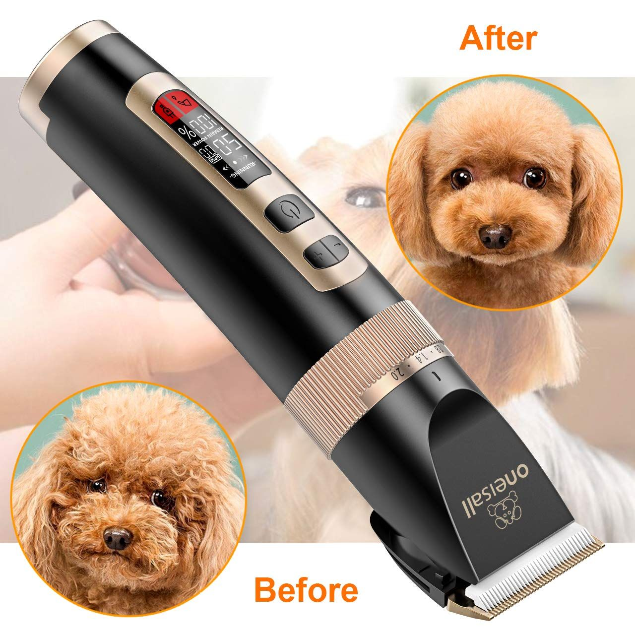 Oneisall Dog Clippers Professional Check Out The Image By Visiting The Link It Is An Affiliate Li In 2020 Dog Clippers Dog Grooming Clippers Dog Grooming Supplies