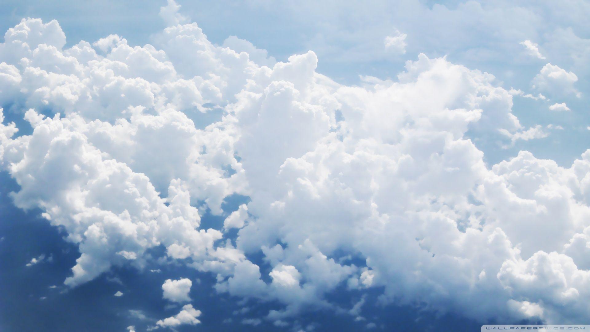 clouds Clouds Aerial View Wallpaper 1920x1080 Clouds