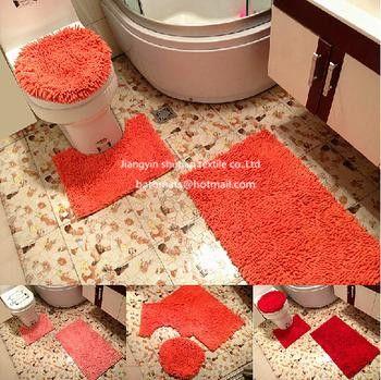 3 Stuck Badezimmer Teppich Sets Einfach Einzigartig
