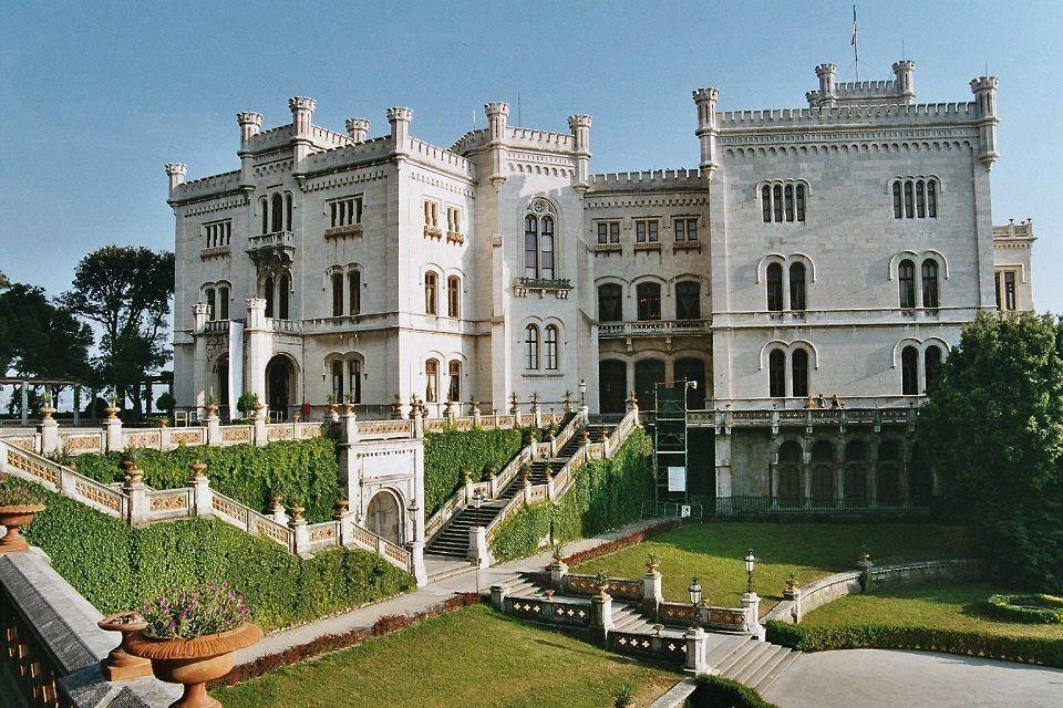 Miramare Castle, Trieste, Italy #monuments