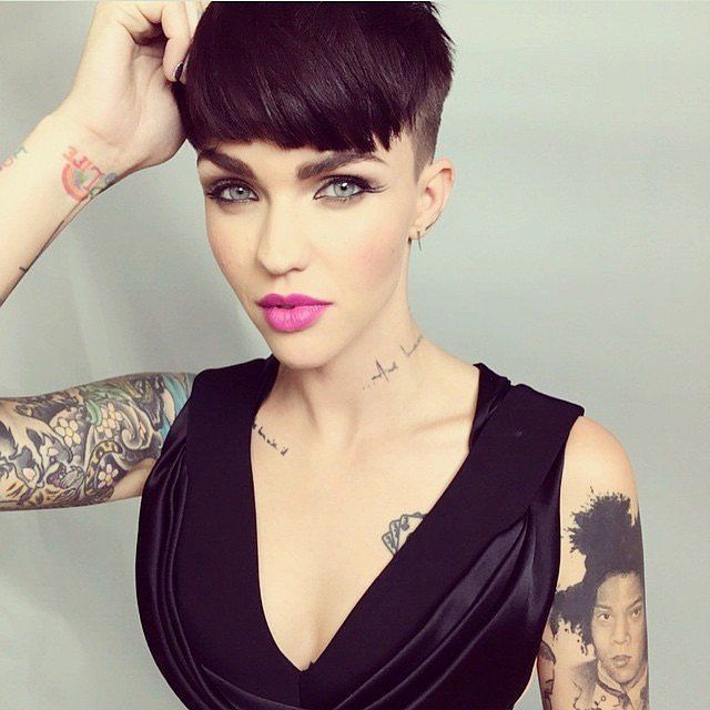 No Its Not Hot In Here Its Just Ruby Rose See Her Sexiest - Undercut hairstyle ruby rose