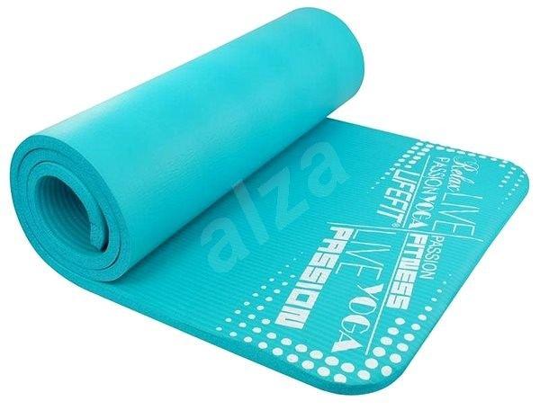 Podložka Podložka Lifefit Yoga Mat Exluziv, svetlá tyrkysová