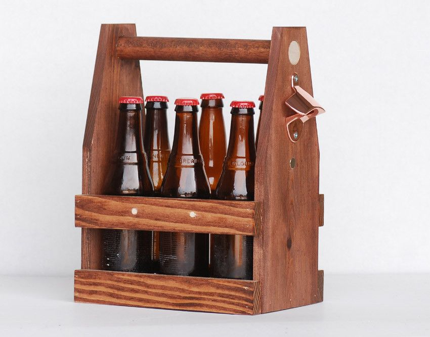 Classic Six Pack Carrier By Meriwether Of Montana Meriwether Of Montana Beer Carrier Beer Holders Gifts For Beer Lovers