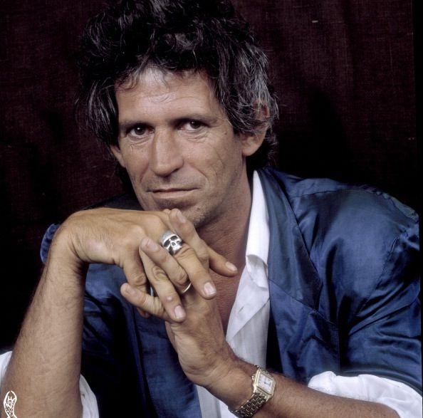 """ Keith Richards in New York, 1987, by Paul Natkin. """
