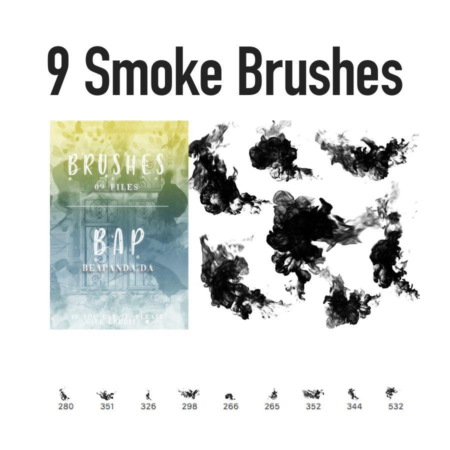 Download Smoke Free Photoshop Brush Presets Photoshop Brushes
