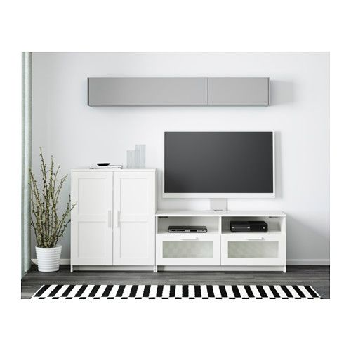 Brimnes Tv Storage Combination White 78 3 4x16 1 8x37 3 8 Tv