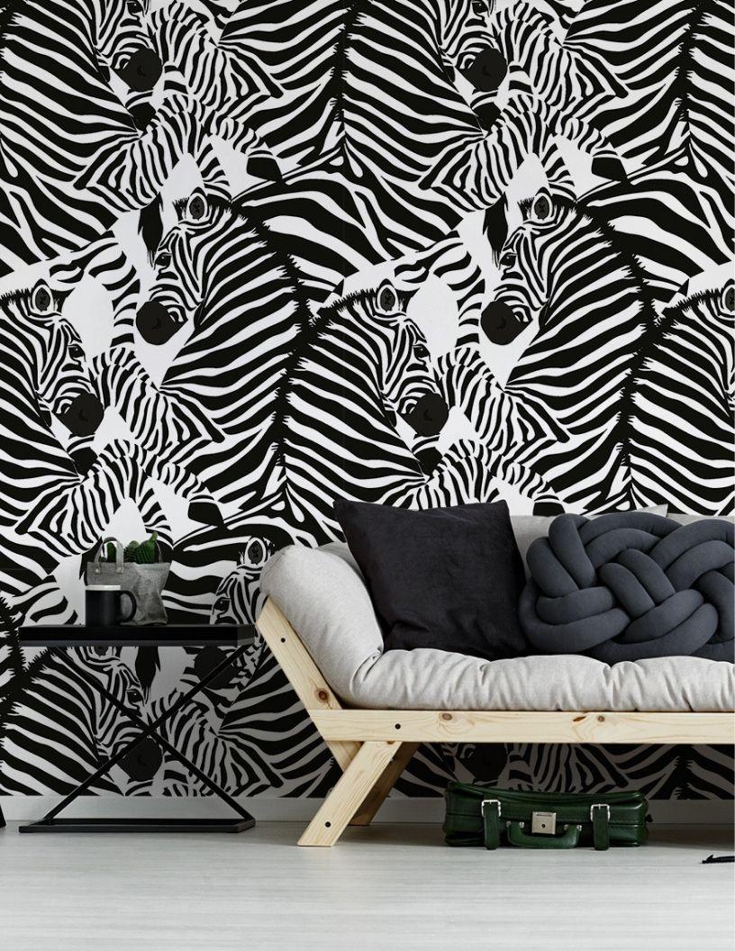Wzor Zebry Dzikie Zwierze Czarno Biale Paski Zaprojektuj Modna Fototapety Redro Printed Rugs Zebra Seamless Patterns