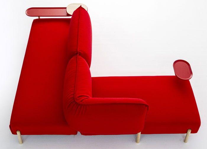 Flexible Modern Modular Sofa By Patricia Urquiola Contemporary