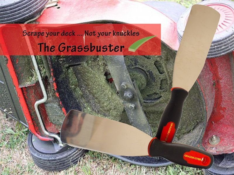 Keep Your Lawnmower Deck Clean With The Grassbuster A Must Have