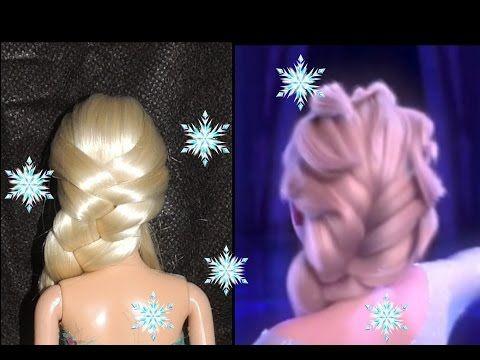 Trança Frozen (inspirada em Elsa) - Telma tranças - YouTube