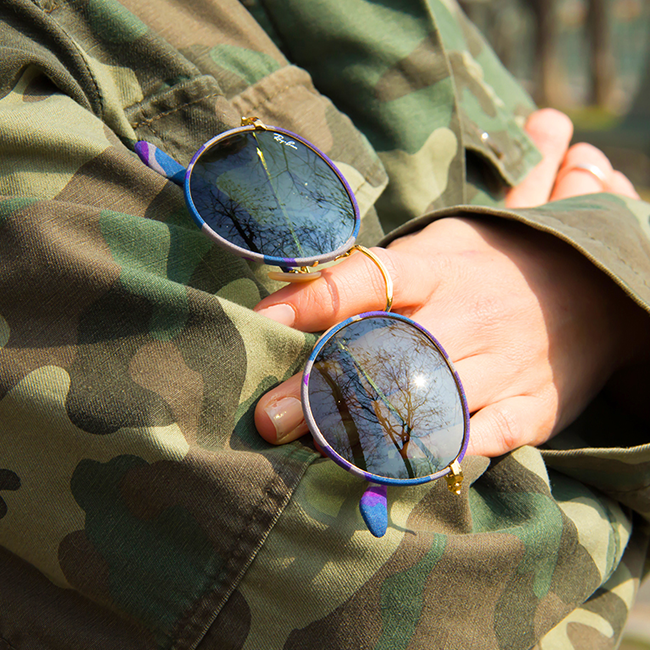 cheap ray ban sunglasses online tqng  Buy Ray-Ban Round Camouflage sunglasses in Camouflage Brown/Green online  today from SmartBuyGlasses Great prices, 2 year warranty & FREE delivery  on all
