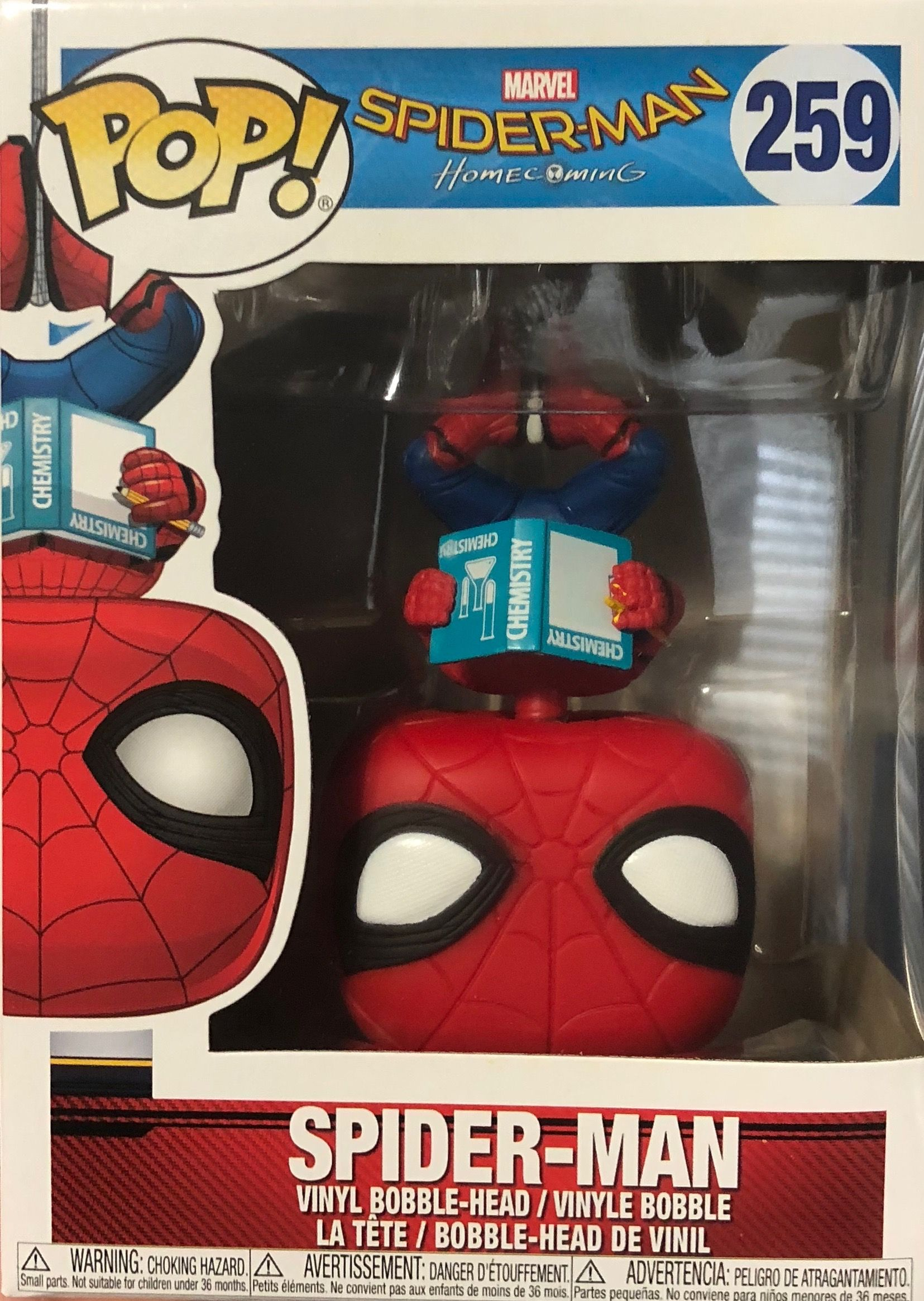 24428d50be9 Spider-man  Homecoming - Spider-man (Upside down)