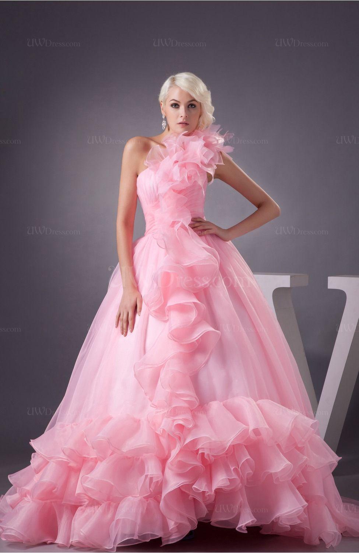 wedding dresses sweetheart neckline princess ball gown pink - Google ...
