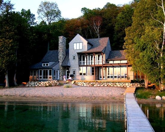 Pin By Ann Zacharias On House Exteriors Luxury House Designs Lake House House Design