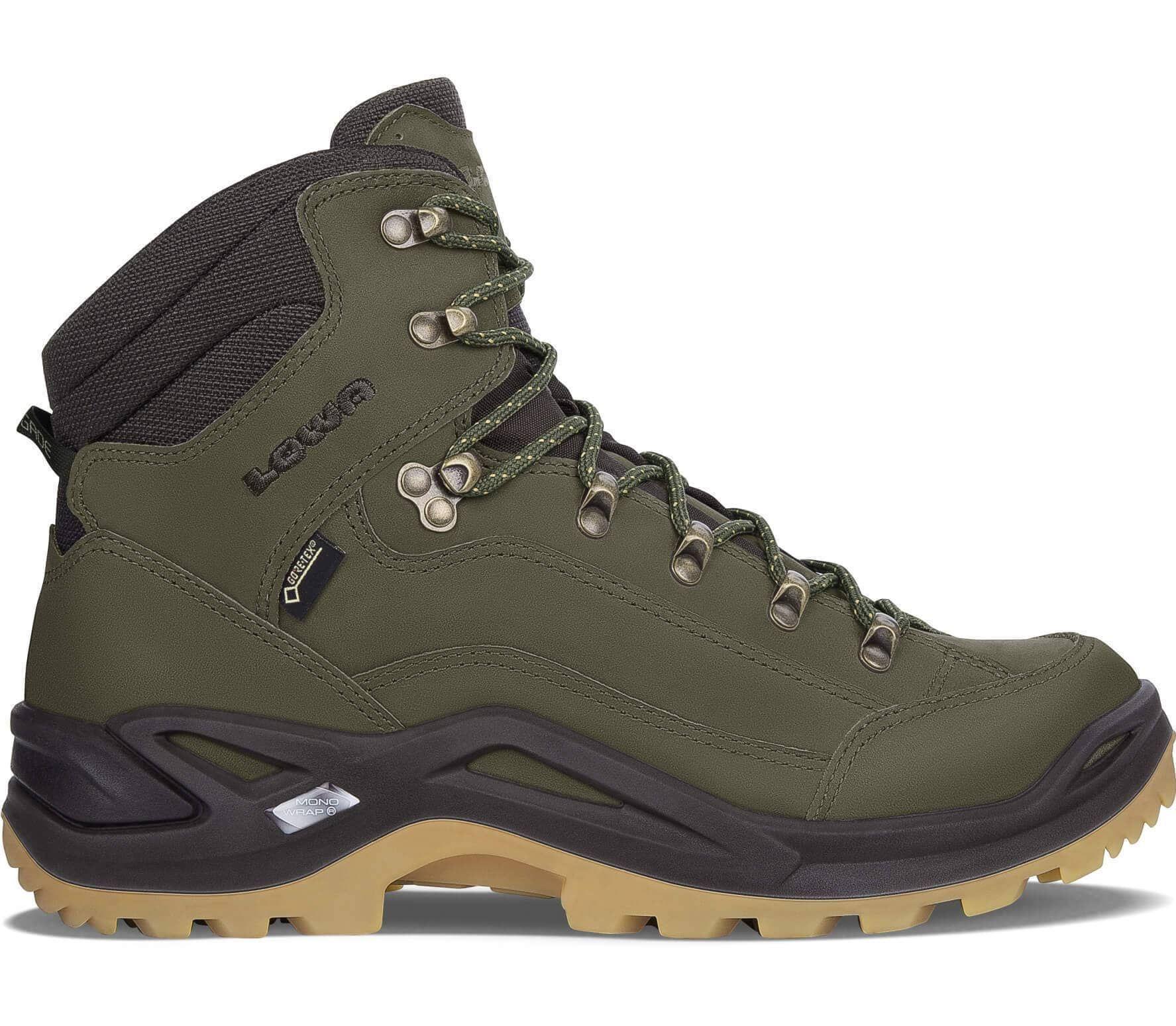 Men's ShoesgreenbrownIn Mid Lowa Hiking Renegade Gtx DYE2bWH9Ie