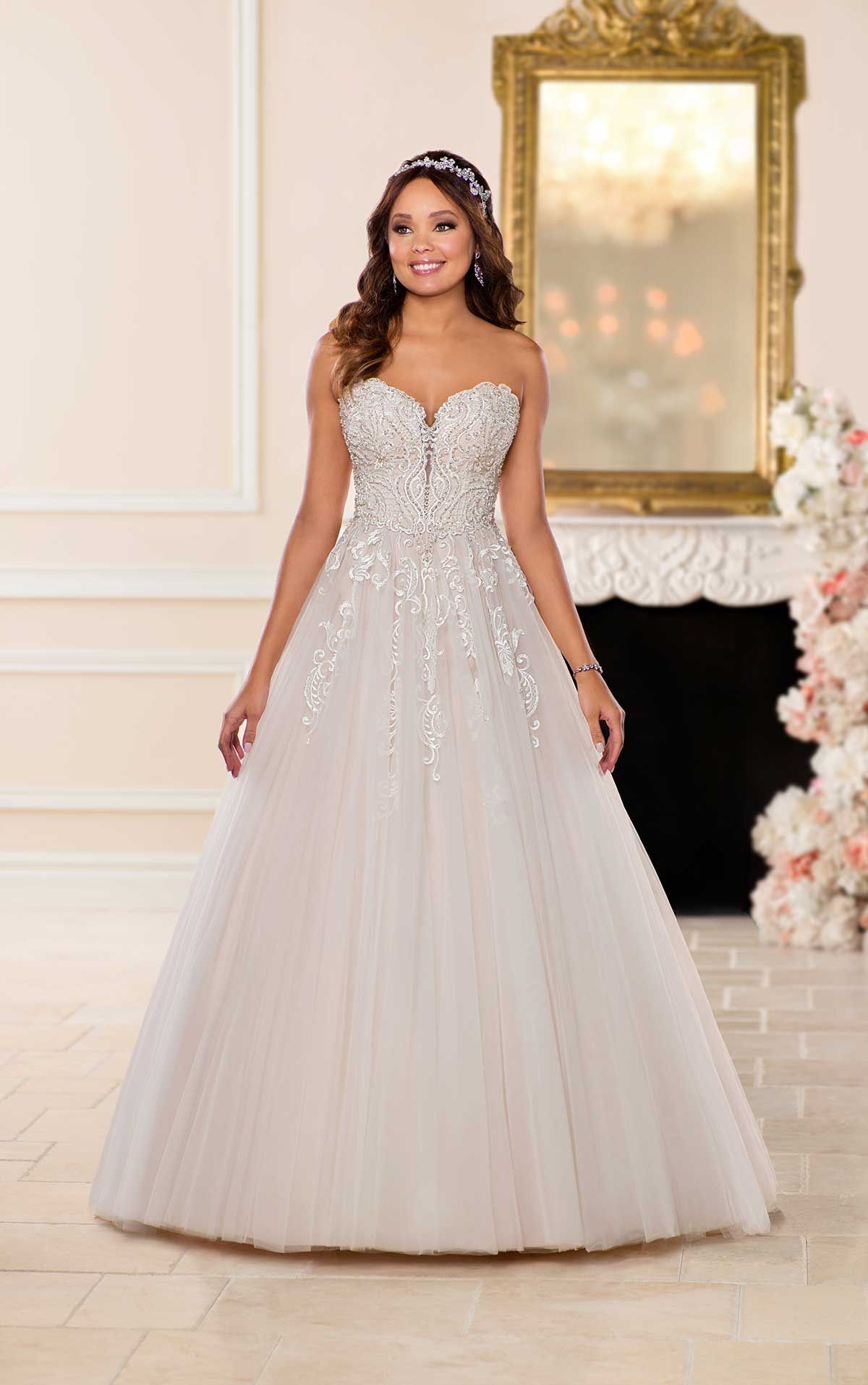 60dd520427 Plus Size Wedding Dress - Sample Size 24 - Inventory  02208