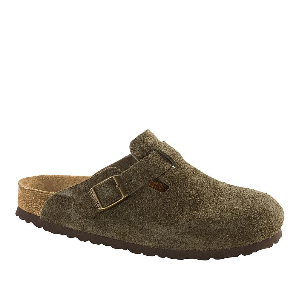 f6be460376fd Birkenstock Boston Suede Clog with Soft Footbed - 8790750 in 2019 ...