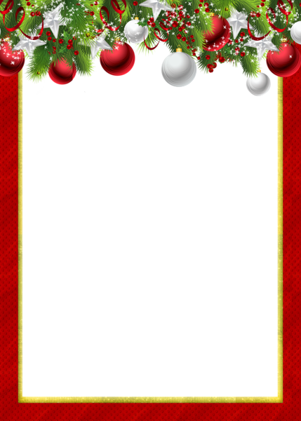 Christmas Ornaments, backgrounds, clip art, and more. | Borders ...