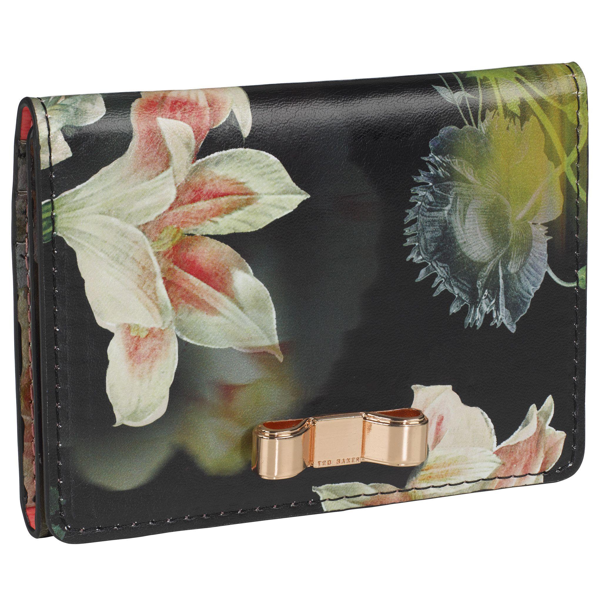 Ted Baker Opulent Bloom Travel Credit Card Holder Mirror – Lush Labels