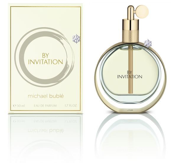 Michael bubl by invitation perfume new beauty giveaway michael bubl by invitation perfume stopboris Choice Image