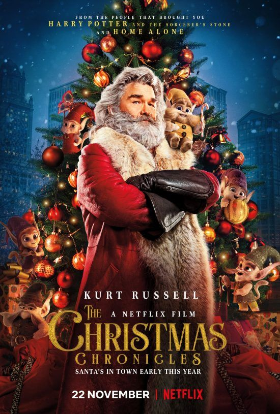Kurt Russell is Santa in The Christmas Chronicles trailer