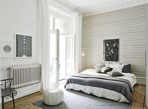 Slaapkamer Ideeen Scandinavisch : Scandinavische slaapkamer met authentieke details slaapkamer