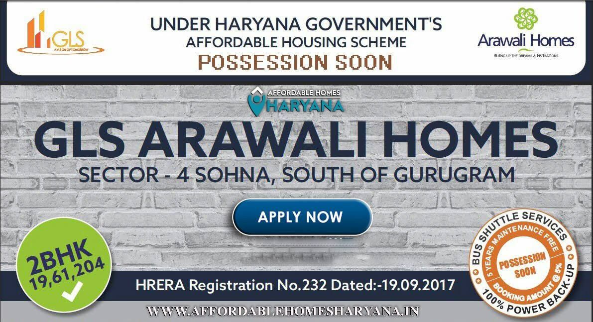 Gls Arawali Homes Application Forms are availableBook Now