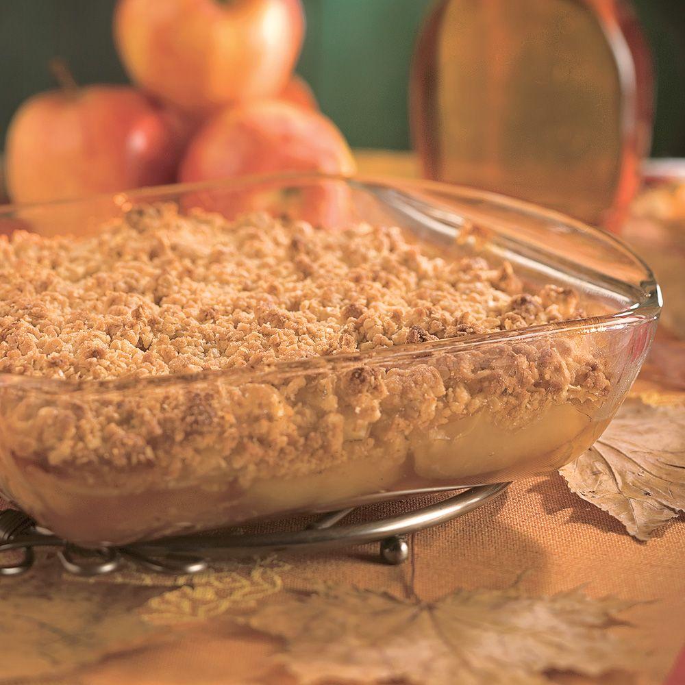 Parfait Aux Pommes Et Au Sirop D érable: Croustade Aux Pommes Et à L'érable - Caty