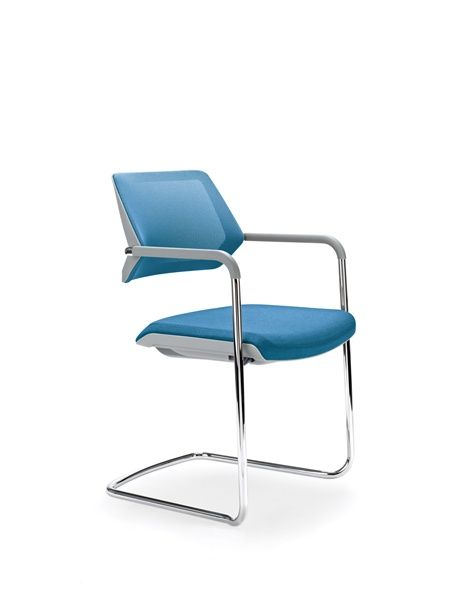 Steelcase Qivi Sled Base Chair Office Seating Steelcase Seat