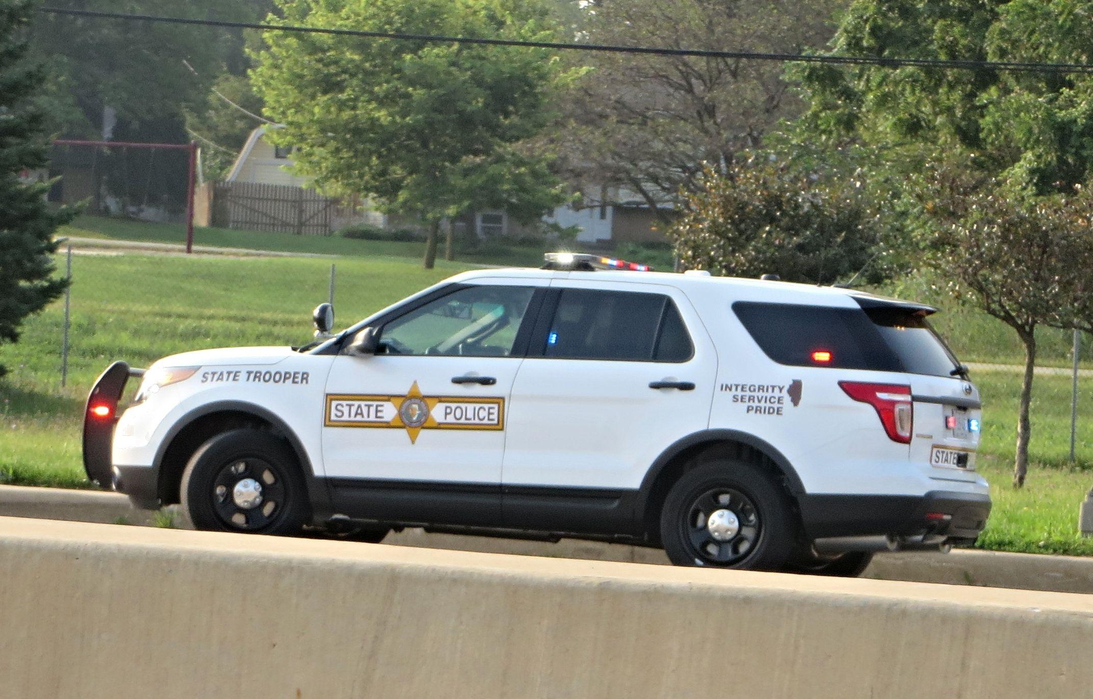 Illinois State Police 2015 Ford Police Interceptor Utility State Police Ford Police Illinois State