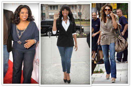 d3cb83720f90 What to Wear If You Are Apple-Shaped  Celebrity Style and Fashion Tips