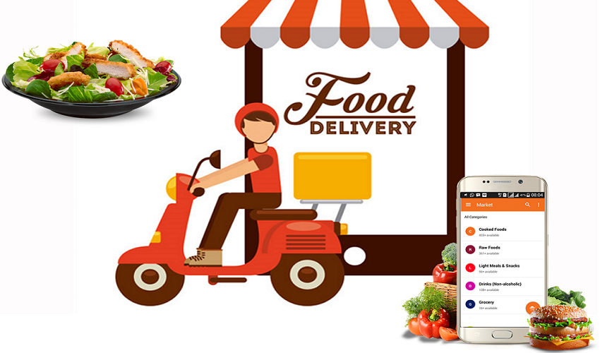 Food Delivery Service Apps