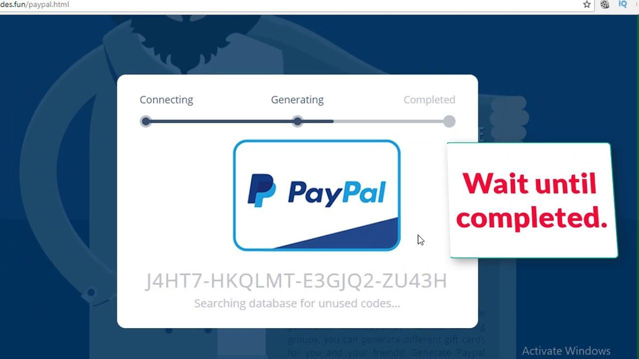 Paypal 100 Gift Card Giveaway Paypal Gift Card Gift Card Generator Free Gift Card Generator