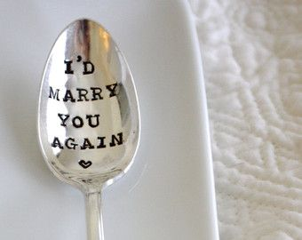 id marry you again hand letter stamped anniversary gift husband and - Best Valentine Gift For Husband