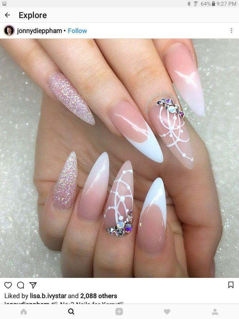 Verführerisch Fingernägel Motive Referenz Von Stiletto Nagelkunst, Gelnägel Motive, Lange Fingernägel, Nagelschere,