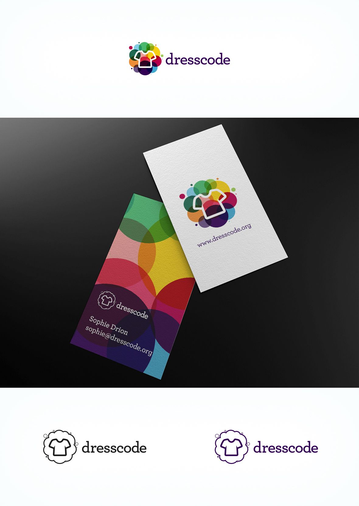 Top 9 June 2013: Logo & business card for dresscode by creptium ...