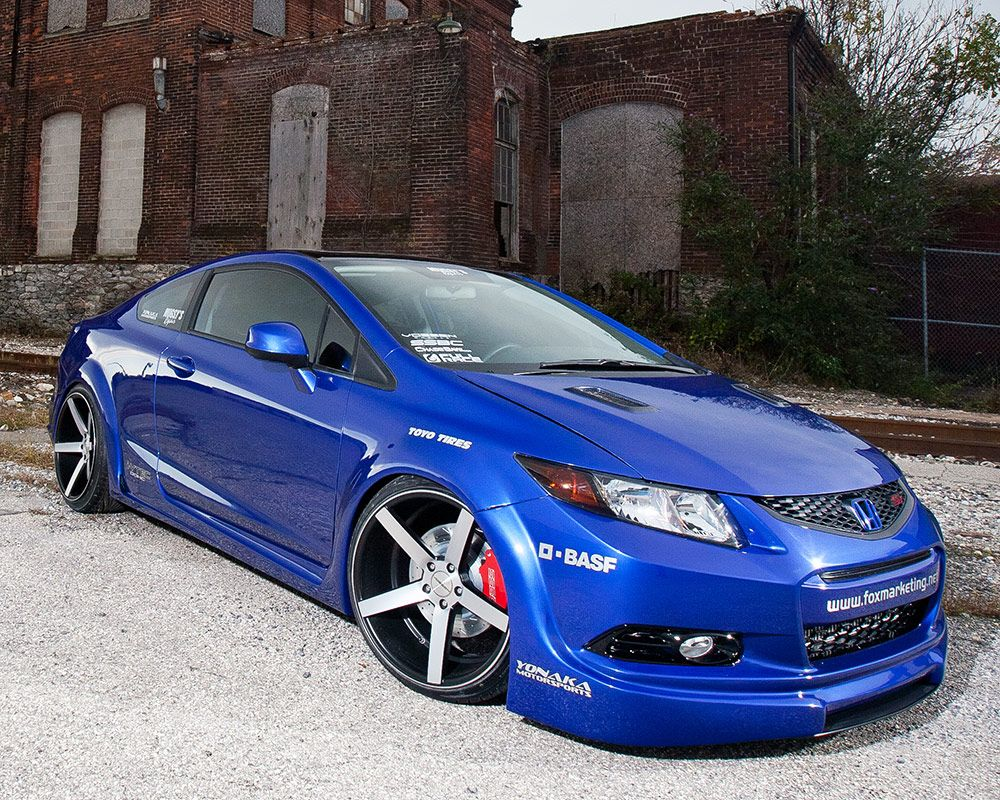 Brian fox s first official build for american honda motor co was a 2012 honda civic