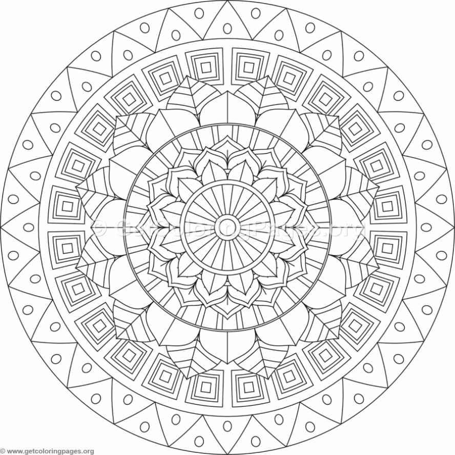 Pin On Adult Coloring Mandala