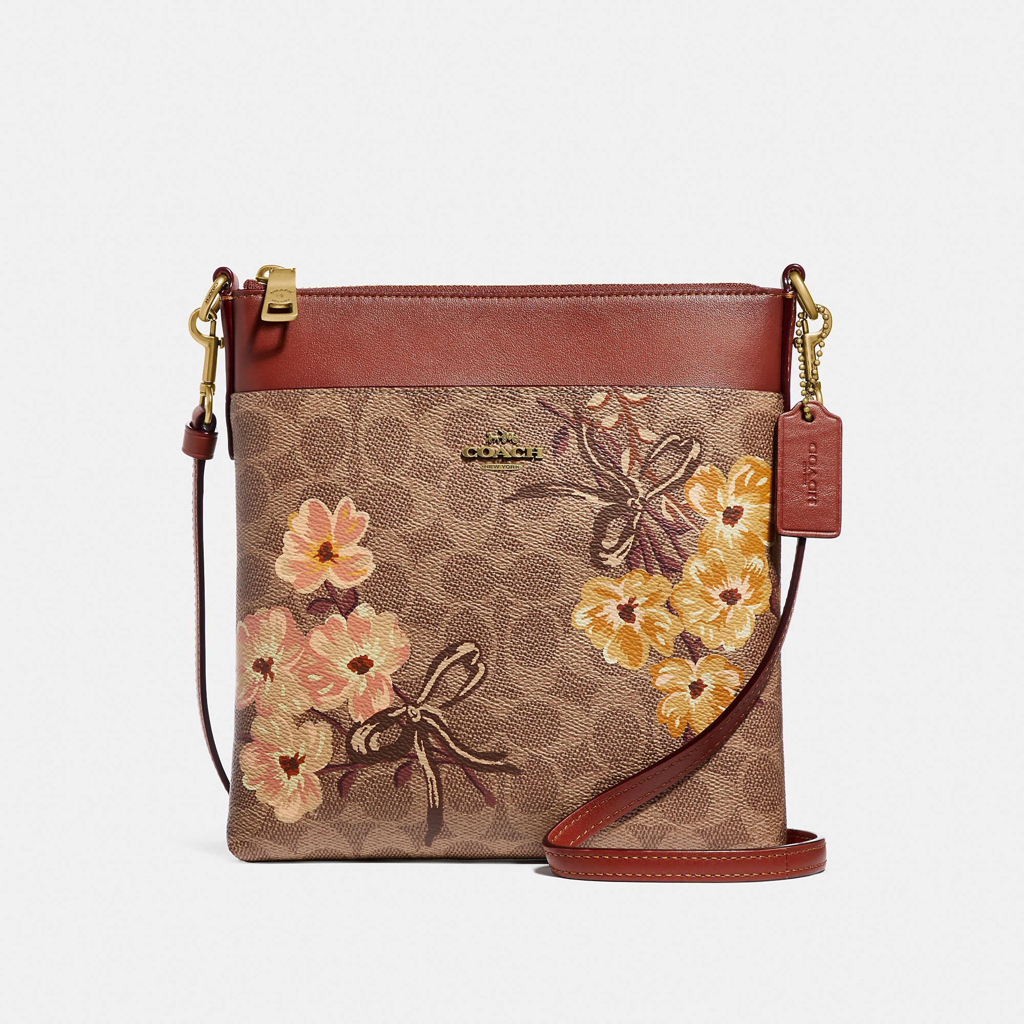 175ac4a188 Kitt Messenger In Signature Canvas With Prairie Floral Print in 2019 ...