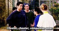 Cheater cheater, compulsive eater
