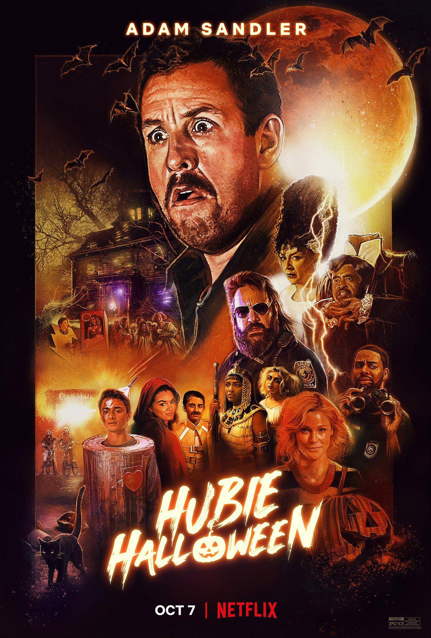 Netflixfilm On Twitter Halloween Movie Poster Adam Sandler Halloween Movies
