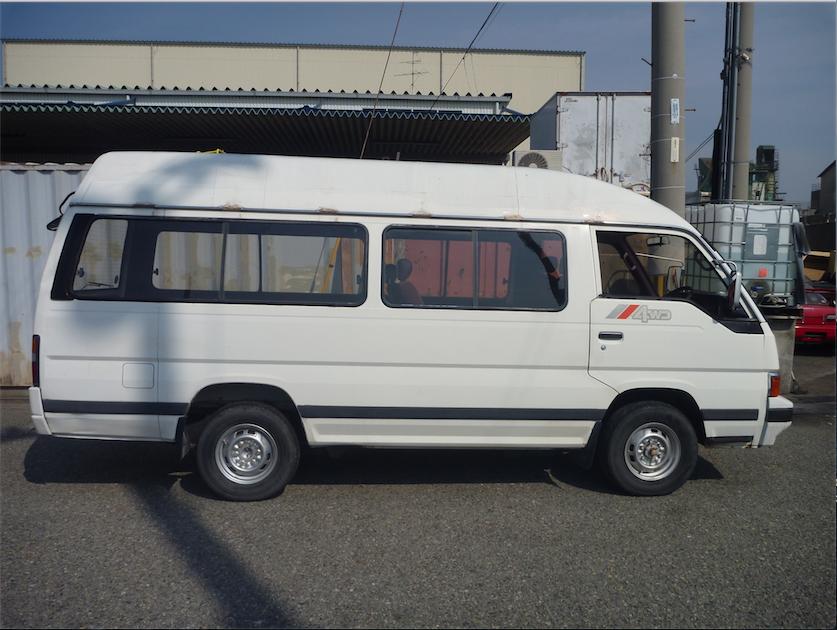 1990 Nissan Urvan Homy E24 Camper Conversion Camper Van Nissan E24