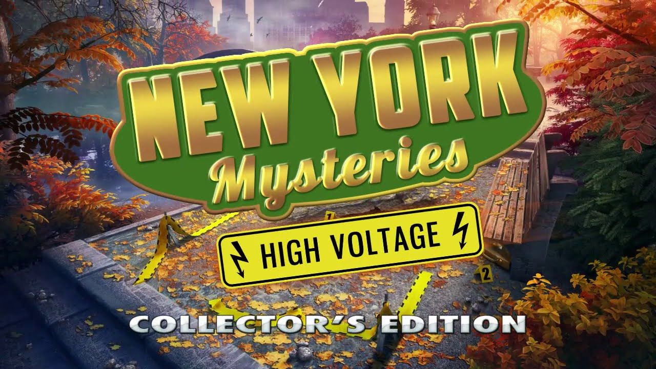 New York Mysteries 2 High Voltage Collector S Edition Gameplay Free Download Hd 720p High Voltage Mystery Big Fish Games