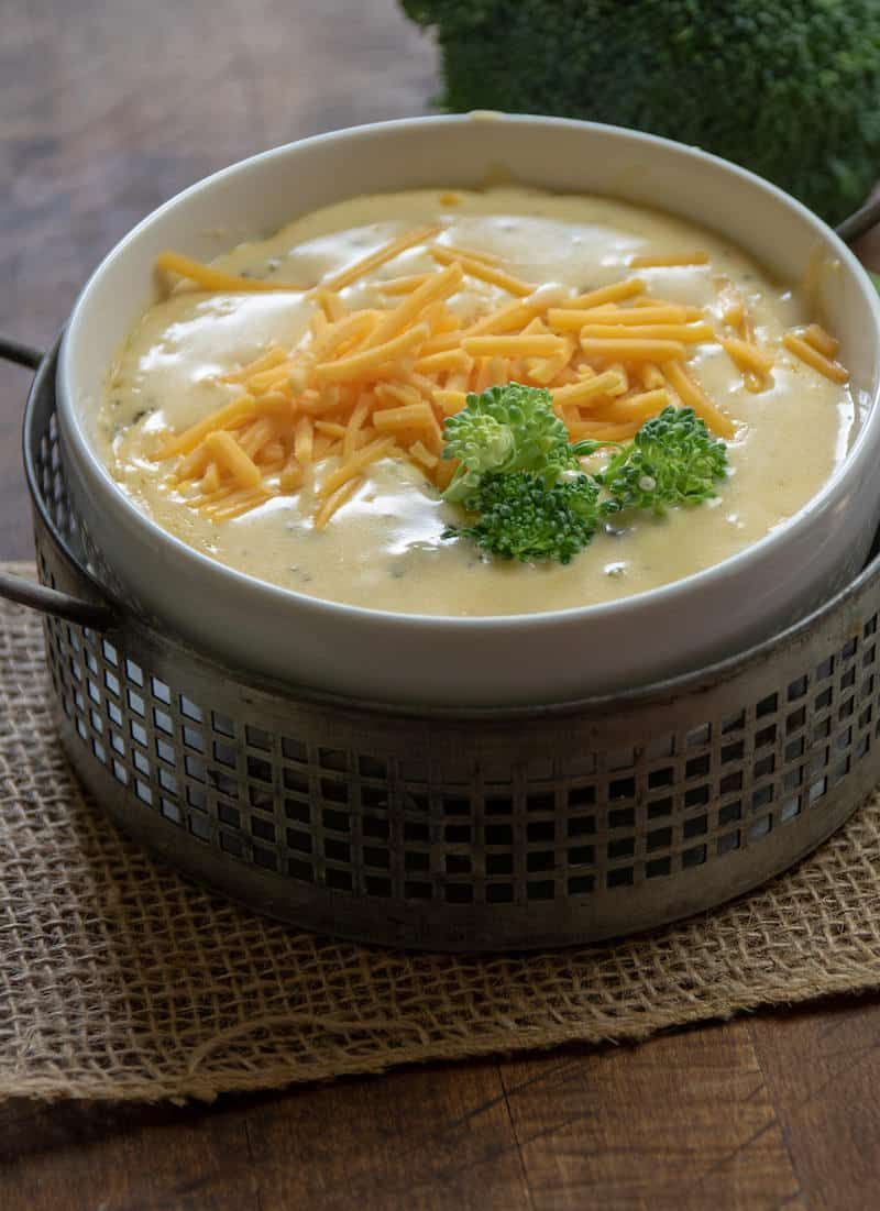 The BEST Keto Broccoli Cheese Soup This is the BEST Keto Broccoli Cheese Soup I've ever tried!! Try this low carb broccoli cheese soup recipe today.