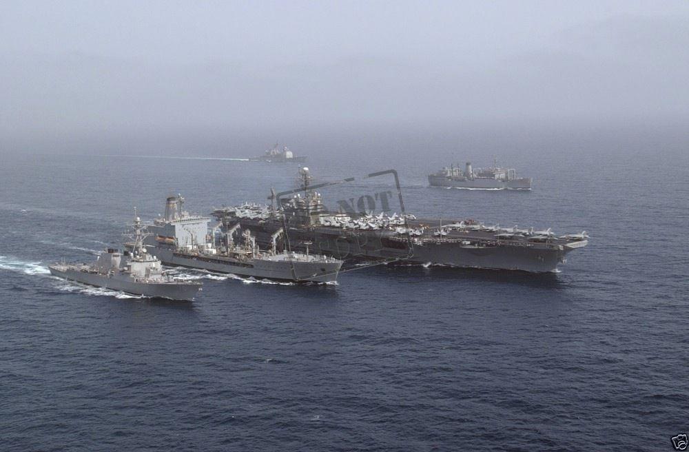 us navy aircraft carrier uss john f kennedy battle group cv 67 n4